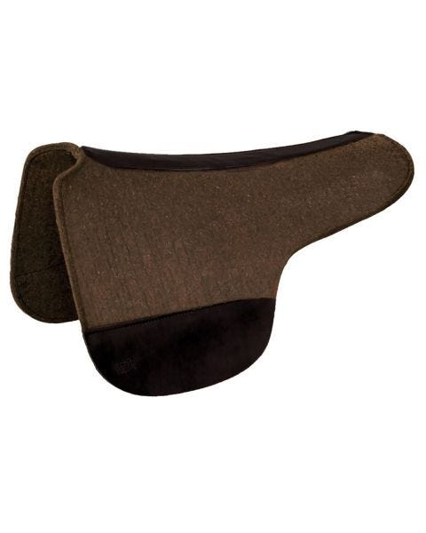 Round Skirt Wool Felt Saddle Pad