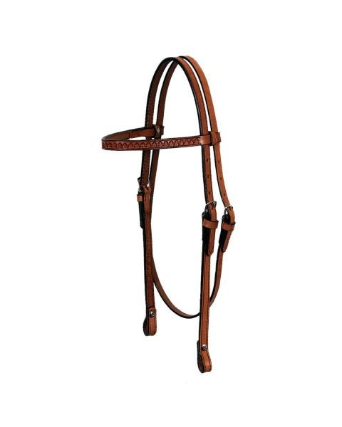 Shell Browband Headstall-3102