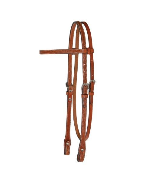 Classic Floral Browband Headstall-3102