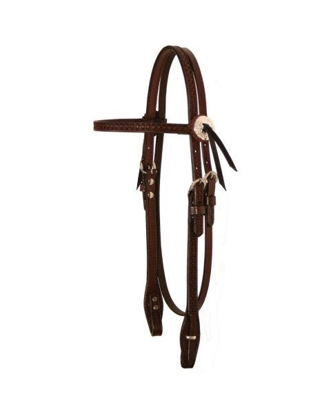 Julie Goodnight Diamond Browband Headstall-3099