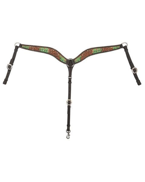 Cactus Country Breast Collar