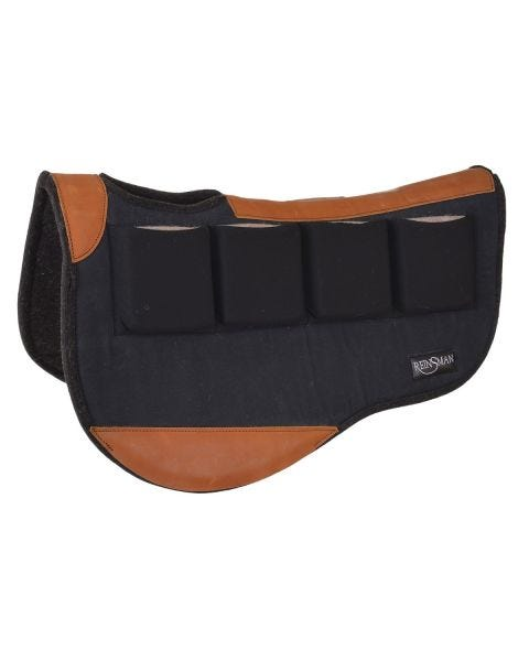 Multi-Fit 4 Ranch Pro Trail Contour Wool Pad-4026