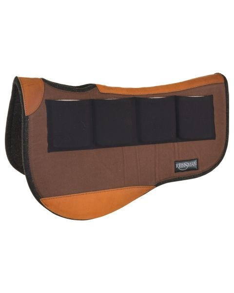 Multi-Fit 4 Ranch Pro Trail Contour Wool Pad-4029
