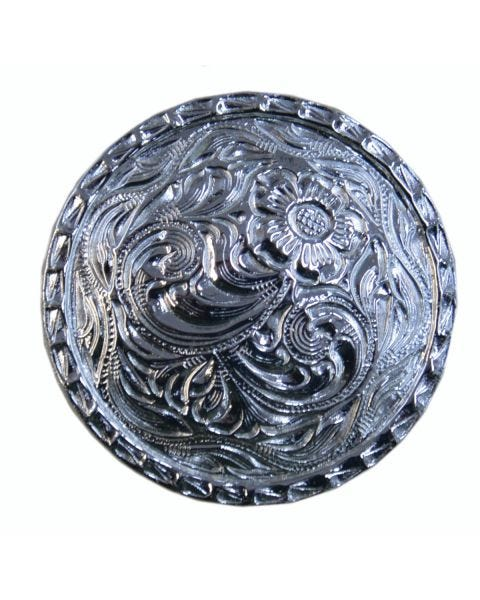 Silver Plated Concho