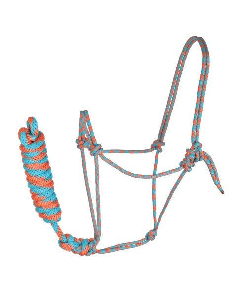 Rope Halter with Lead-5201