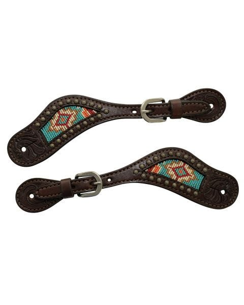 Beaded Berry Spur Straps